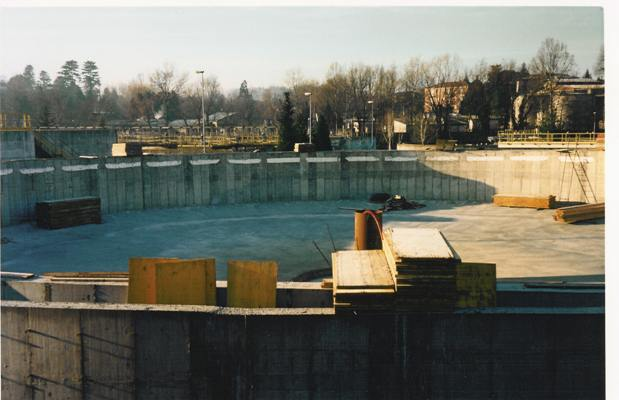Terza Linea Depuratore Lago di Varese - Vasca in cemento armato